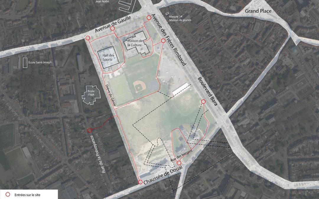 Projet de réaménagement de la plaine des manoeuvres en un parc urbain