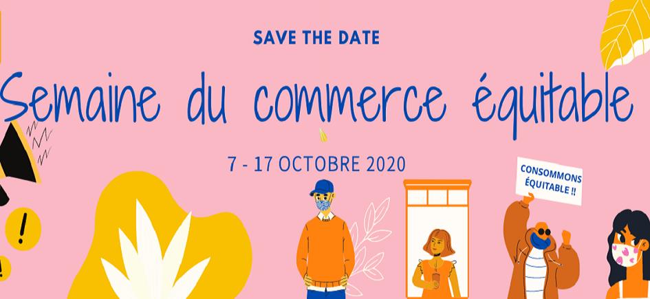 7ème Semaine du commerce équitable du 7 au 17 octobre 2020